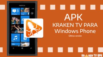 kraken tv para windows phone nokia lumia